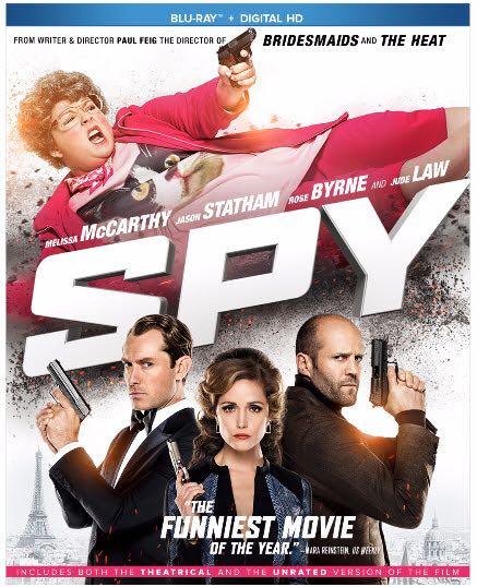 Spy - Blu-ray cover