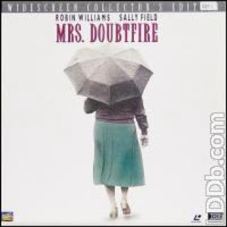 Mrs. Doubtfire - Laser Disc cover
