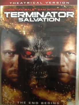 The Terminator 4: Terminator Salvation - DVD cover