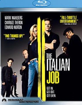 The Italian Job 2 - Blu-ray cover