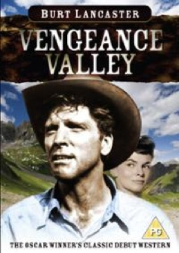 Vengeance Valley(Classic Western Collection) - DVD cover