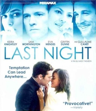 Last Night - HD DVD cover