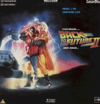 Back to the Future II - Laser Disc cover