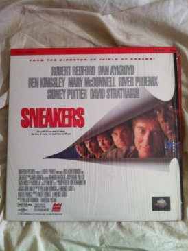 Sneakers - Laser Disc cover