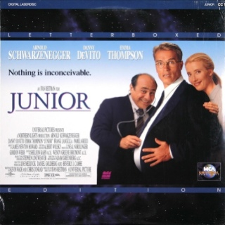 Junior - Laser Disc cover
