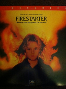 Firestarter - Laser Disc cover