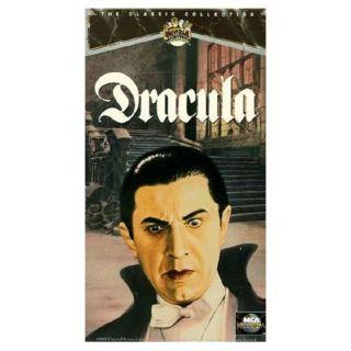Dracula - VHS cover