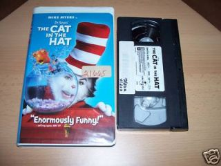 fdd3aeee The Cat In The Hat (2004) - VHS - 096896247834