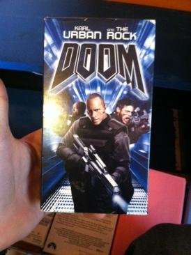 Doom - VHS cover