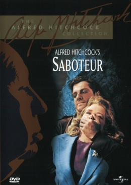 Hitchcock Saboteur - DVD cover