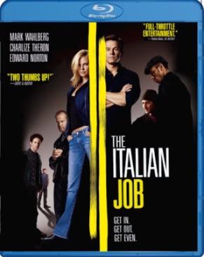 Italian Job - Blu-ray cover