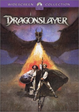 Dragonslayer - VHS cover