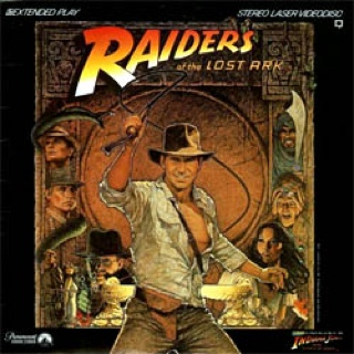 Raiders Of The Lost Ark - Laser Disc cover