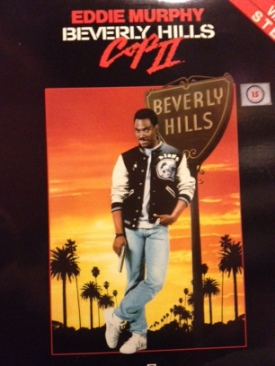 Beverly Hills Cop II - Laser Disc cover