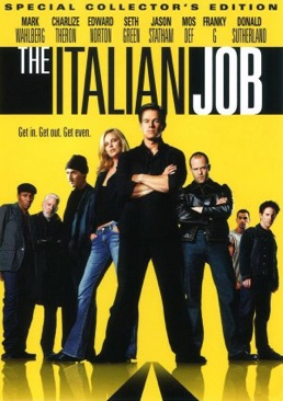 Italian Job - DVD cover