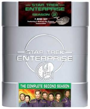 Star Trek: Enterprise - DVD cover