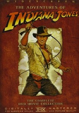 Indiana Jones: The Adventure Collection - DVD cover