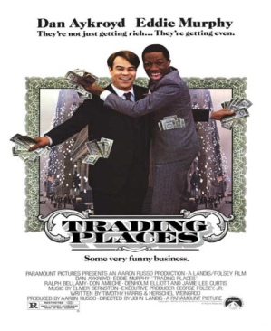 Trading Places.     BR - Blu-ray cover