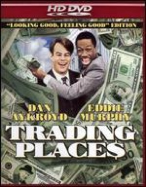 Trading Places - HD DVD cover