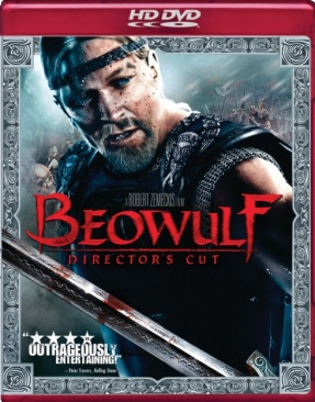 Beowulf - HD DVD cover