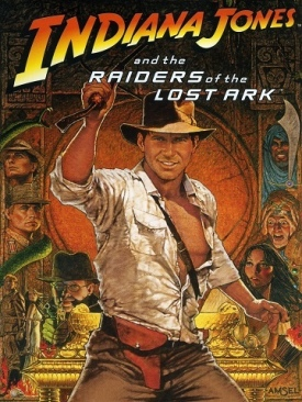 Indiana Jones 1: The Raiders Of The Lost Ark - DVD cover