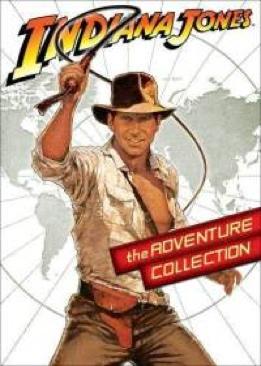 Indiana Jones I, II & III - DVD cover