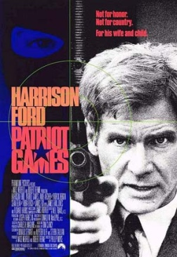 Patriot Games - Blu-ray cover