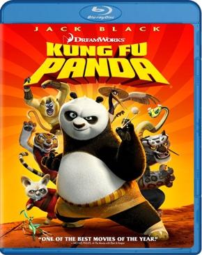 Kung Fu Panda - Blu-ray cover