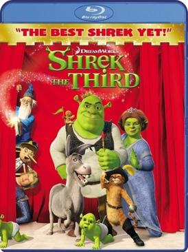 Shrek the Third - Blu-ray cover