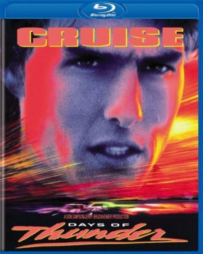 Days of Thunder - Blu-ray cover