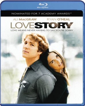 Love Story - Blu-ray cover