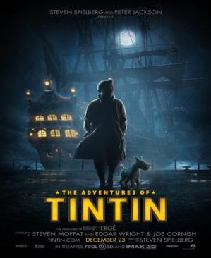 Tintin The Adventures of Tintin - Blu-ray cover