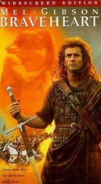 Braveheart - VHS cover