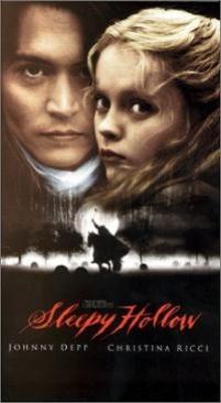 Sleepy Hollow - VHS cover
