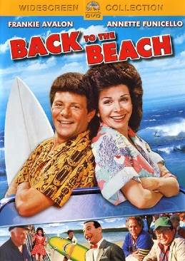 Back To The Beach - DVD cover