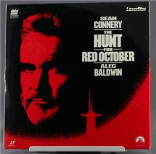 The Hunt for Red October - Laser Disc cover