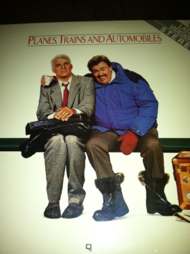 Planes, Trains and Automobiles - Laser Disc cover