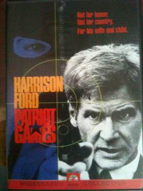 Patriot Games - DVD cover