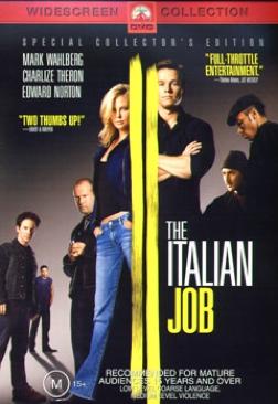 Italian Job - DVD cover