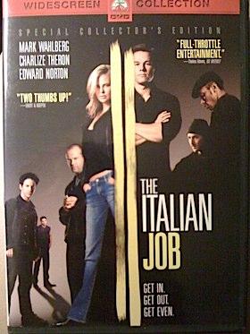 Italian Job,The - VHS cover