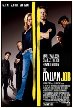 Italian Job, The - DVD cover