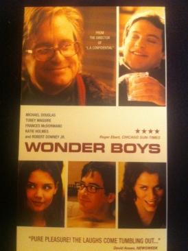 Wonder Boys - VHS cover