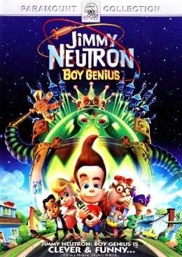 Jimmy Neutron: Boy Genius - DVD cover