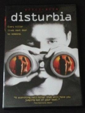 Disturbia - DVD cover