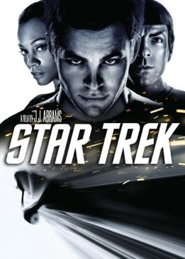 Star Trek XI: Star Trek - Blu-ray cover