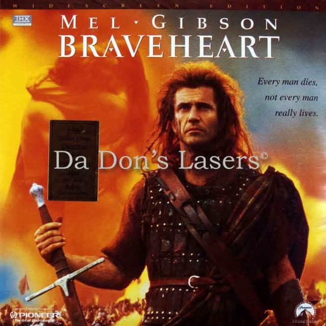 Braveheart 1995 movie poster