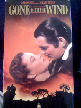Gone with the Wind - VHS cover