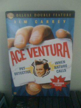 Ace Ventura Deluxe Double Feature - DVD cover