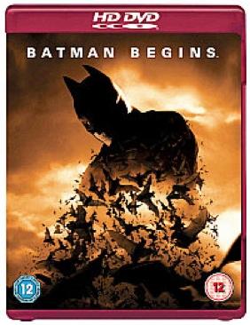 Batman Begins - HD DVD cover