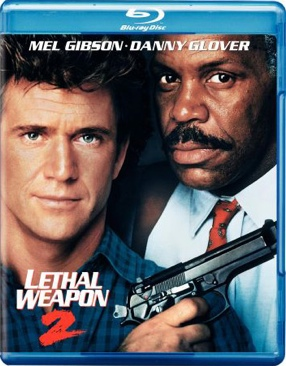 Lethal Weapon 2 - Blu-ray cover